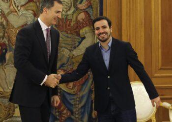 Alberto Garzón se reunirá con el rey en la ronda de contactos parlamentaria del lunes