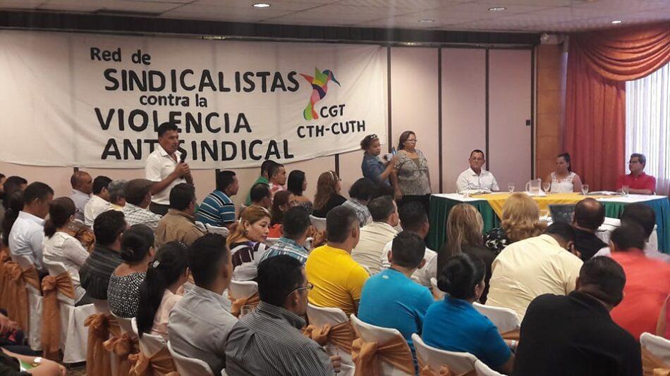 En Honduras no para la violencia antisindical