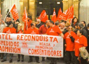 La Juventud Comunista exige la absolución de las 11 del Hotel Reconquista