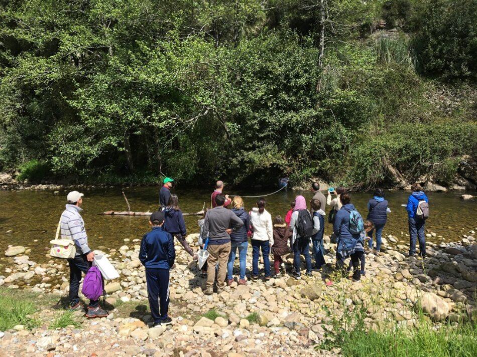 Red Cambera busca personas voluntarias para conocer el estado de los ríos de Cantabria