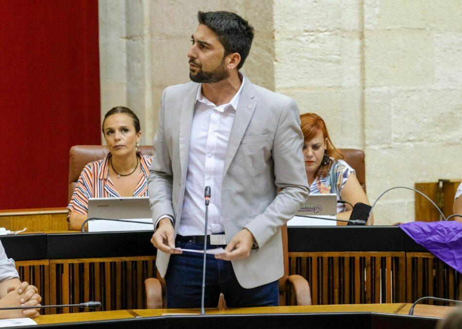 Adelante Andalucía pide que la Junta ponga fin de inmediato a la actividad minera en la Sierra de Esparteros