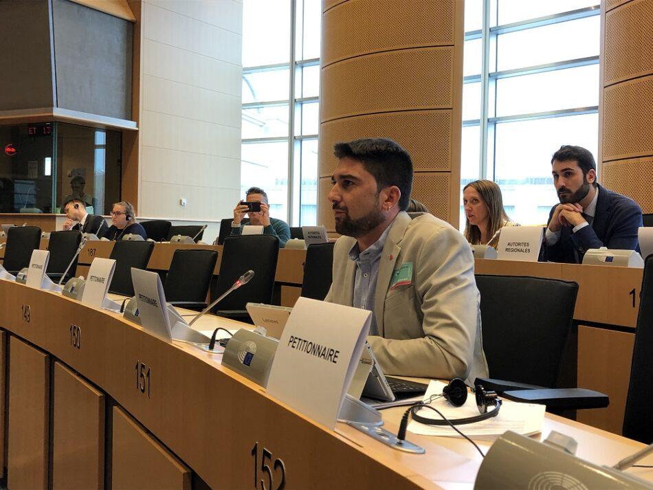 IU solicita a la UE medidas para compensar al sector aceitunero por lo aranceles de Trump