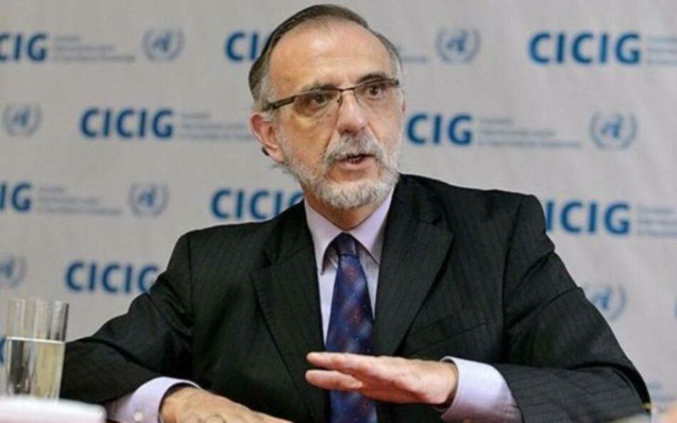 """Cierre de la CICIG: """"El fortalecimiento de las instituciones públicas y de la sociedad civil es el mayor legado de la lucha contra la corrupción"""""""