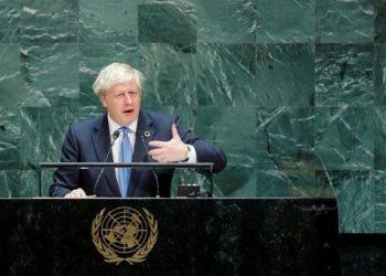 Boris Johnson omite el brexit en discurso ante la ONU