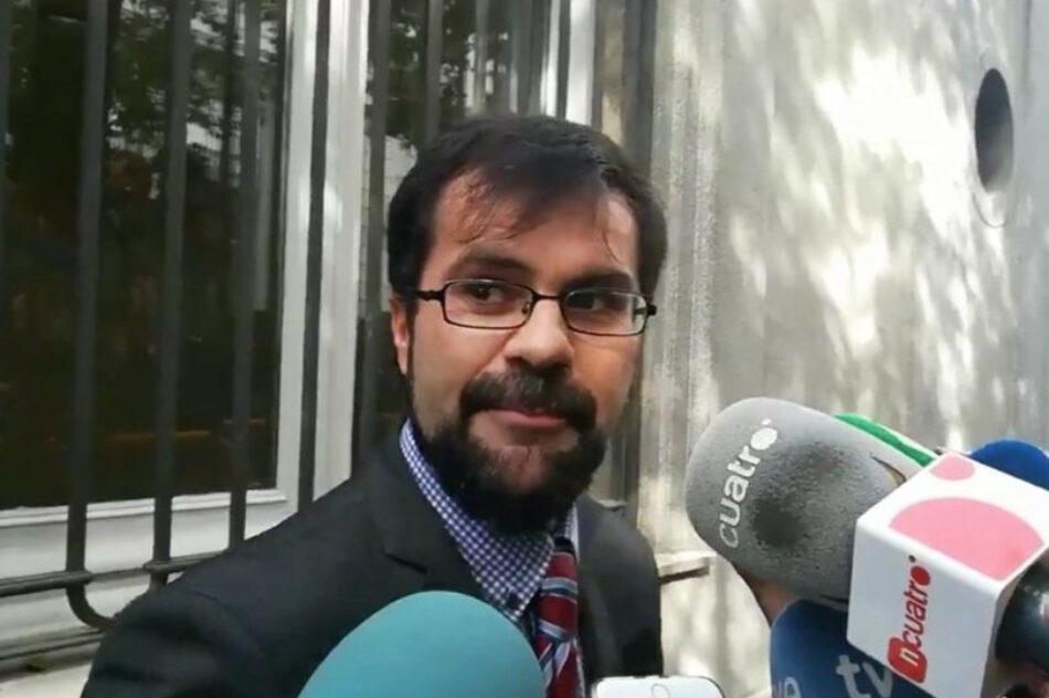IU recurrirá ante la Audiencia Provincial de Madrid el primer fallo que no condena al PP por la destrucción constatada de los ordenadores de su extesorero Bárcenas