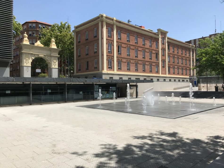 Controversia vecinal por la reforma de una plaza en el madrileño distrito de Retiro