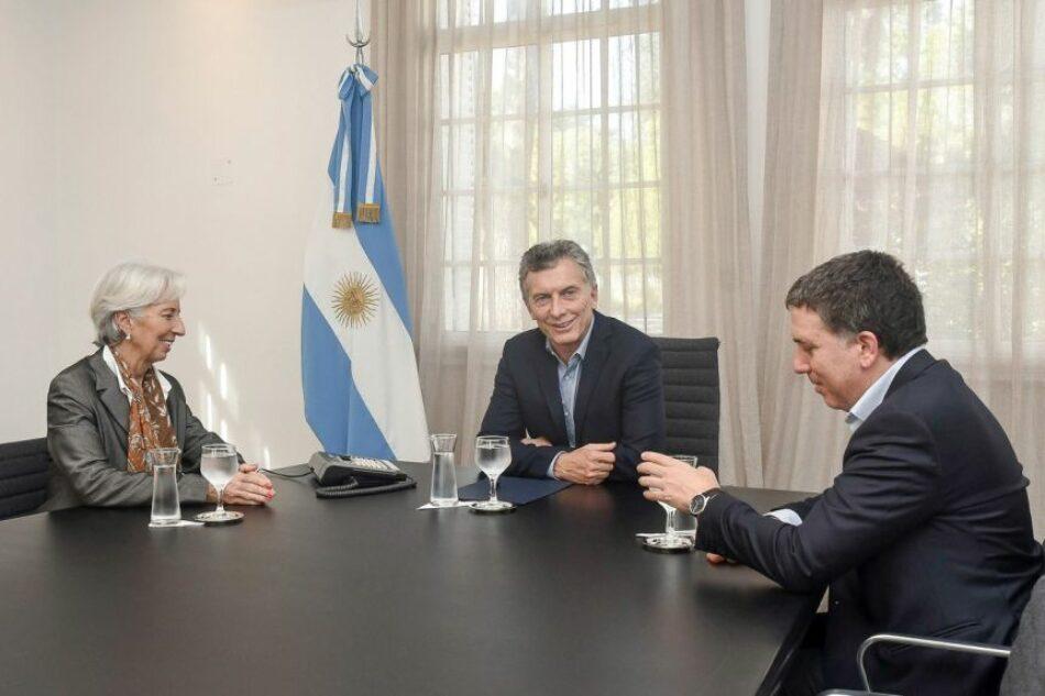 La justicia argentina obliga a Macri a revelar el contenido de los acuerdos con el FMI