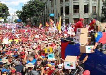 Nicolás Maduro resalta masiva participación en campaña No More Trump