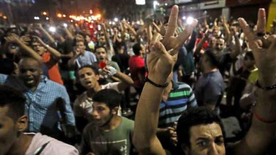 Segunda jornada de protestas contra presidente egipcio al-Sisi