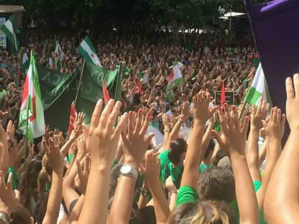 """La """"Marea Verde"""" se prepara para un comienzo de curso reivindicativo"""