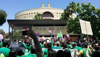 Marea Verde Andalucía se suma la Huelga General Educativa convocada el 28 de mayo por CGT