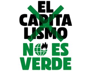 El capitalismo no es verde