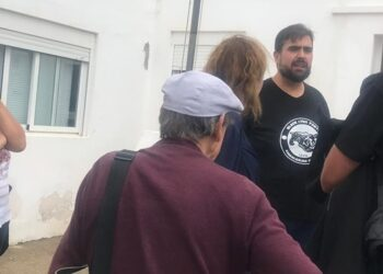 Detienen al portavoz nacional del SAT, Oscar Reina, en Níjar