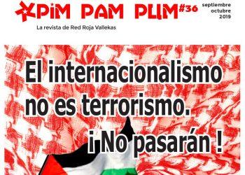 """Red Roja Vallekas denucia la imputación de tres compañeras solidarias con Palestina y cuestiona la utilización del término """"terrorismo"""""""