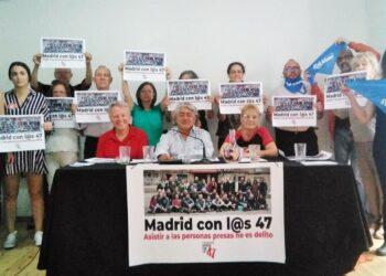 Se presenta en la capital la Plataforma Madrid con lo@s 47