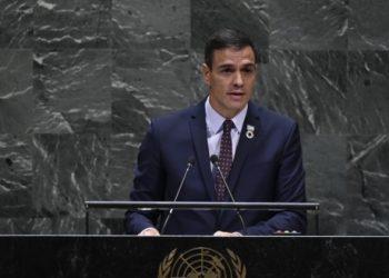 Pedro Sánchez abandona en la ONU la defensa de la autodeterminación del pueblo saharaui