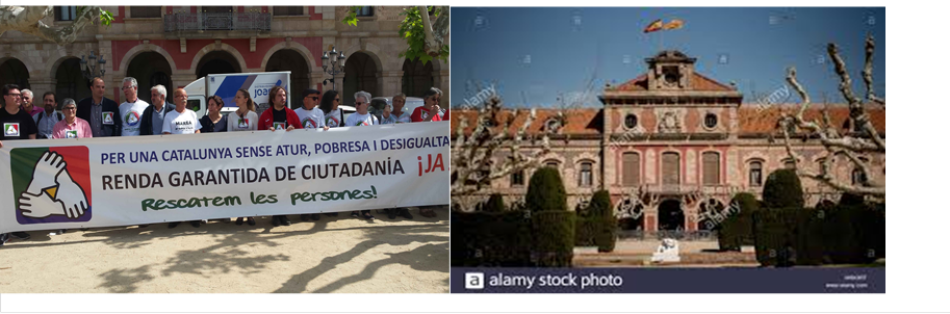 La asociación Renta Garantizada de Ciudadanía llama a concentrarse ante el Parlament de Cataluña