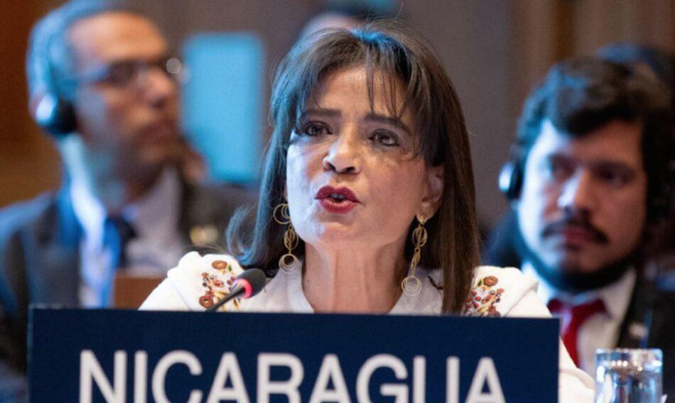 Nicaragua nombra a nueva embajadora ante la OEA