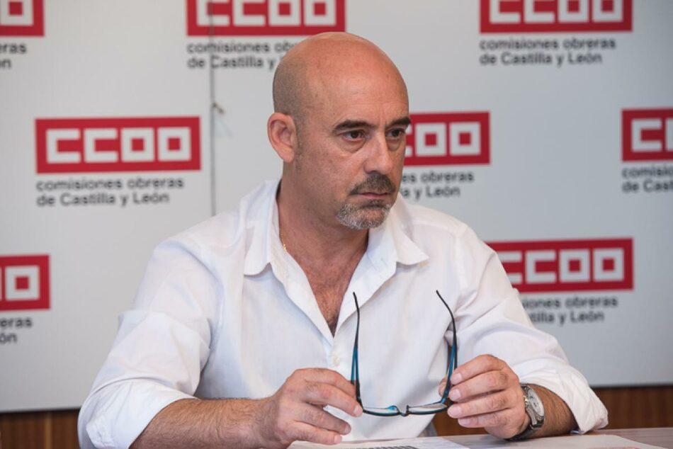 CCOO convoca movilizaciones en los centros de trabajo ante la emergencia climática