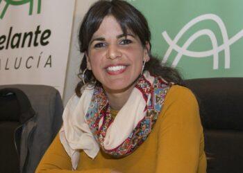 Teresa Rodríguez se reincorpora esta semana a la actividad pública tras el periodo de maternidad