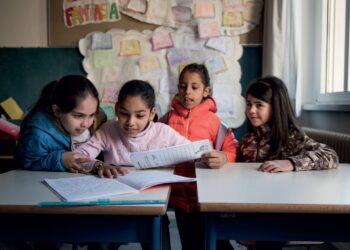 ACNUR, OIM y UNICEF instan a los Estados europeos a impulsar la educación para los niños refugiados y migrantes