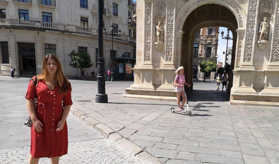 """Adelante Sevilla cree que el gobierno municipal """"va tarde a la hora de regular los patinetes eléctricos"""""""