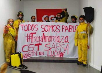 CGT condena la sanción al bombero forestal que ha contado la realidad laboral de la labor de las BRIF en el gran incendio en Gran Canarias