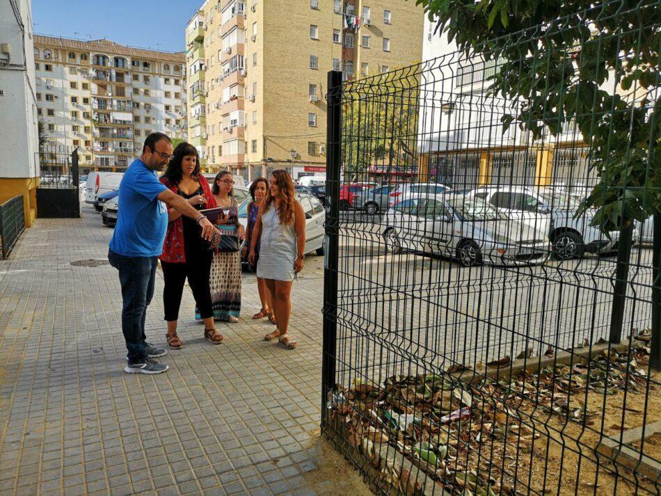 Adelante Sevilla reclama al gobierno local medidas urgentes para revertir el abandono que sufre El Cerro del Águila