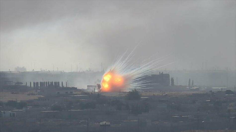 """Turquía bombardea ciudad siria con """"agentes químicos desconocidos"""""""