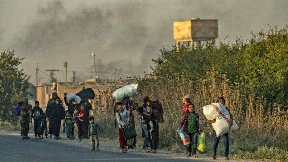 ONU estima: 400 000 desplazados precisan de ayuda en norte de Siria
