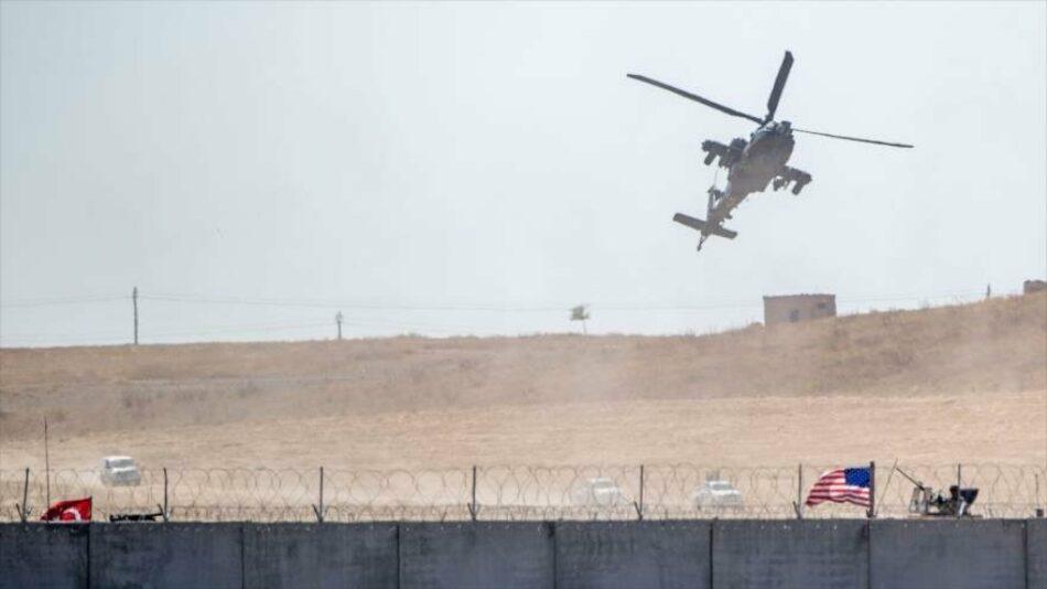 Helicópteros de EEUU trasladan a Daesh de Siria a Irak