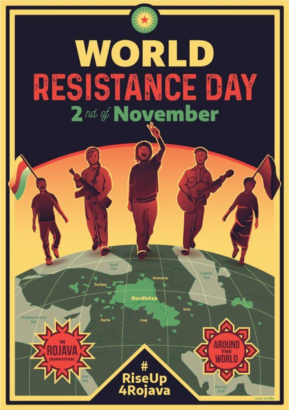 Día de acción mundial para Rojava: 2 de noviembre