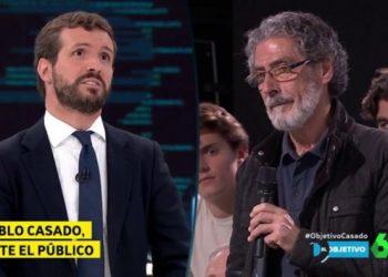 Un pensionista pregunta a Casado si él podría vivir con 385 euros al mes y este responde que «no se puede hacer demagogia»