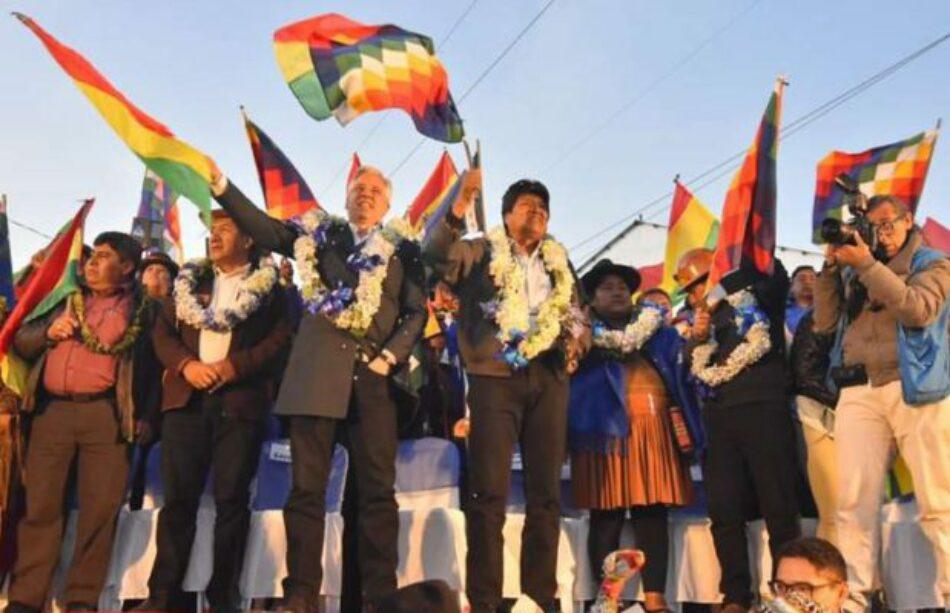 Bolivia. Gigantesca movilización del MAS en El Alto para defender la victoria popular