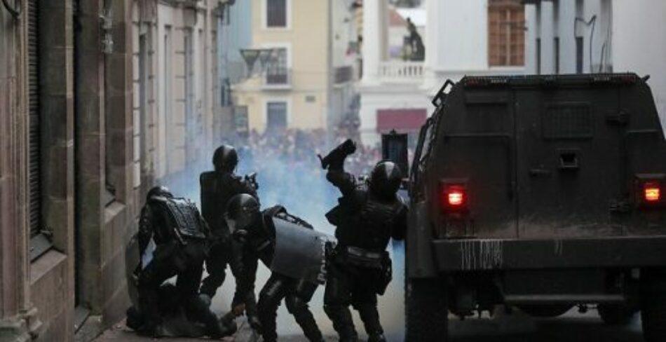 """Ecuador. """"Graves vulneraciones de derechos por agentes estatales"""", concluye Alianza de Derechos Humanos"""