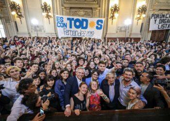 Alberto Fernández: «El FMI es el responsable de la crisis en Argentina y Ecuador»