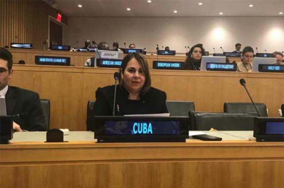 Pese al bloqueo, Cuba suma logros en temas de desarrollo sostenible