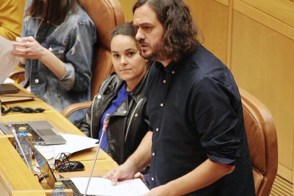 """Antón Sánchez: """"Os traballadores queren un presidente da Xunta que exerza e non un militante do PP"""""""