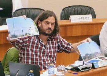 Antón Sánchez: «O dos parques eólicos de Paradela só é un exemplo máis do modelo do espolio que está a acontecer no noso país polas políticas do Partido Popular»