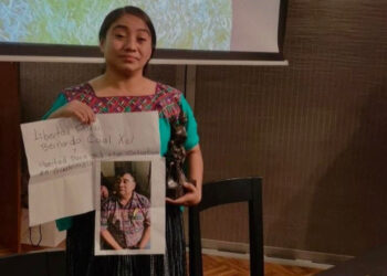 Bernardo Caal, activista encarcelado en Guatemala premiado en Bélgica
