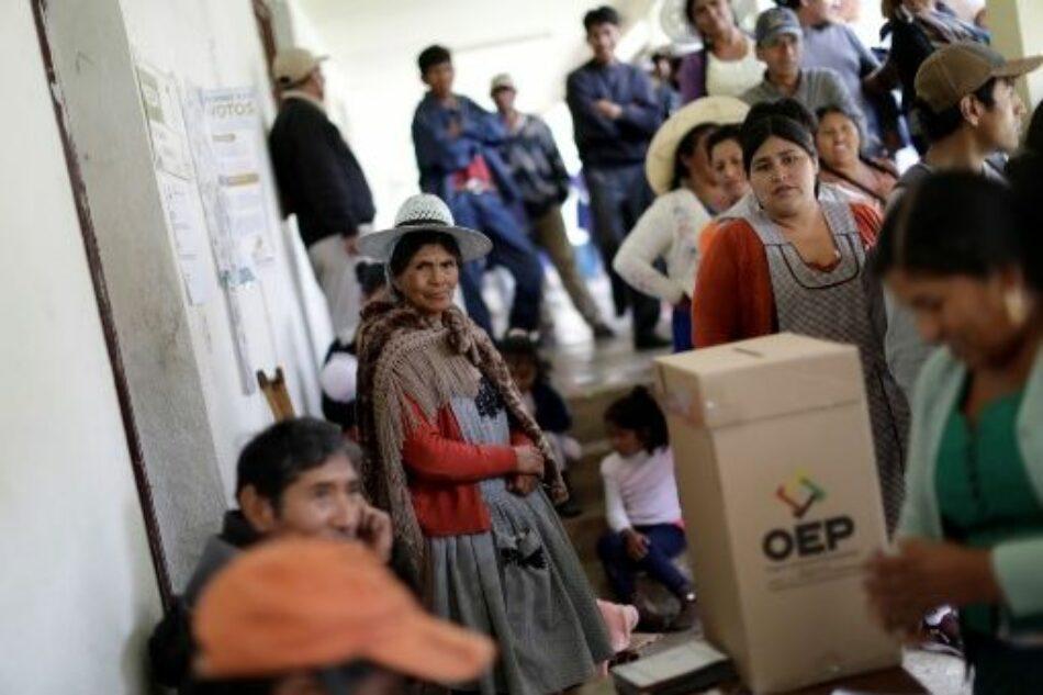 Bolivia anuncia que la auditoría de la OEA al proceso electoral inicia el 31 de octubre
