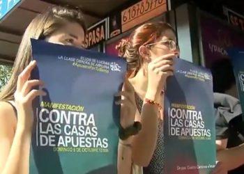 La FRAVM llama a manifestarse el domingo contra la proliferación de las casas de apuestas