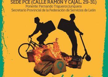 Acto en León: «La precariedad mata: nuestras vidas, sus beneficios»