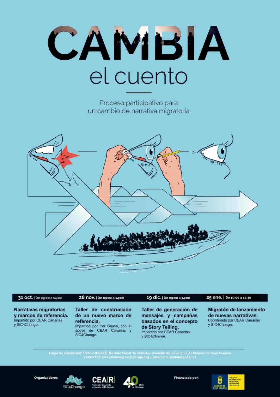 'Cambia el Cuento': un proceso participativo sobre las narrativas migratorias