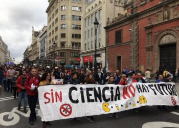 Madrid marcha para reivindicar la inversión en Ciencia