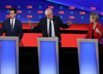Debate demócrata en EE.UU.: la noche de Warren, Sanders y Buttigieg