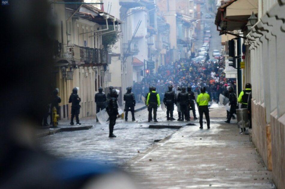 Ecuador entre demandas populares y represión