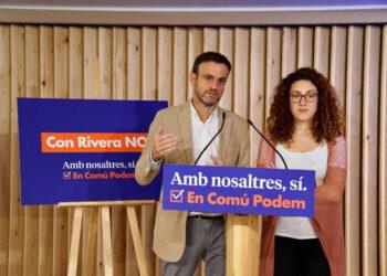 Jaume Asens: «Avui més que mai «Con Rivera No» representa un crit d'esperança per una majoria de progrés que passa per nosaltres, per un gran «Amb Nosaltres Sí»