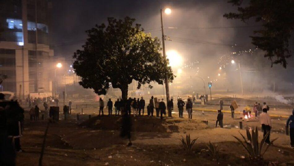 Reportan explosiones en inmediaciones de Asamblea Nacional en Quito
