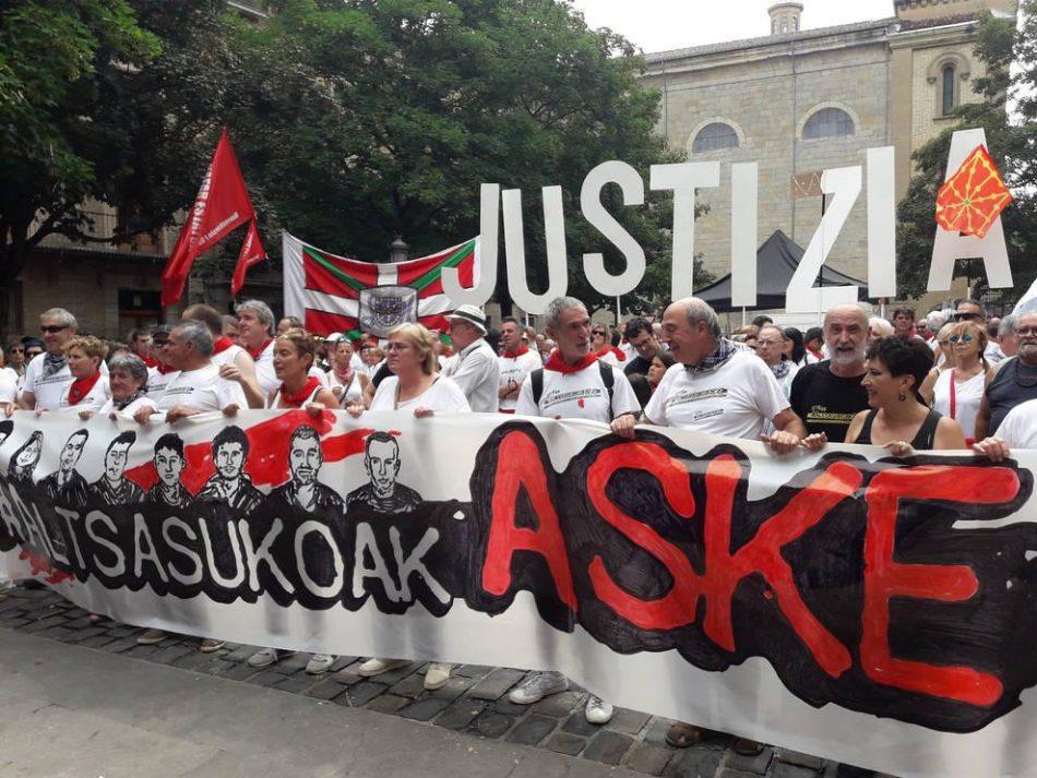 El Supremo mantiene elevadas penas de prisión contra los jóvenes de Altsasu por el altercado en el bar Koxka